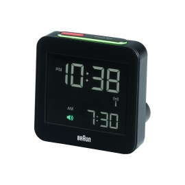 Braun BNC 009 Global Radio Controlled Alarm Clock black