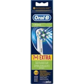 Braun Oral-B Toothbrush heads Cross Action 7er + 1