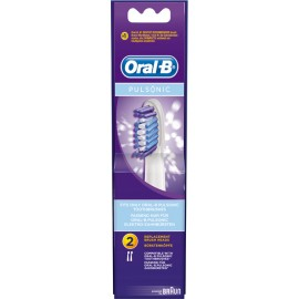 Braun Oral-B extra brushes Pulsonic 2-parts
