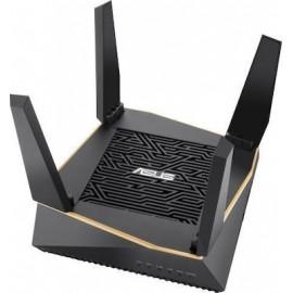 ASUS AiMesh AX6100 wireless router Tri-band (2.4 GHz / 5 GHz / 5 GHz) Gigabit Ethernet Black