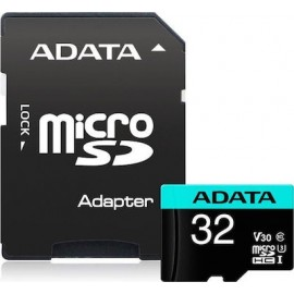 ADATA AUSDH32GUI3V30SA2-RA1 memory card 32 GB MicroSDXC Class 10 UHS-I