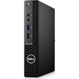 DELL OptiPlex 3080 i3-10100T MFF 10th gen Intel® Core™ i3 8 GB DDR4-SDRAM 256 GB SSD Windows 10 Pro Mini PC Black