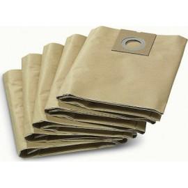 Kärcher 6.904-290 - Bolsas filtro de papel (pasck de 5) Cylinder vacuum Dust bag