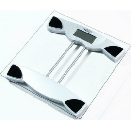 Adler AD 8124 Electronic personal scale Square Transparent