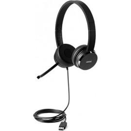 Lenovo 100 Stereo USB Headset Black