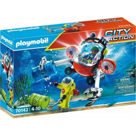 Playmobil City Action 70142 Enviromental Operation With Dive Boat