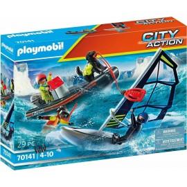 Playmobil City Action 70141 Polar Sailor Rescue With Dinghy