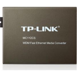 TP-Link MC112CS 10/100Mbps WDM Media Converter V6