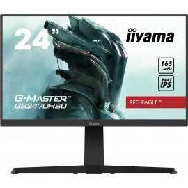 60,5cm/23,8 (1920x1080) iiyama G-MASTER G2440HSU-B1 Gaming 16:9 1ms 75Hz USB HDMI DisplayPort VESA Speaker Full HD Black