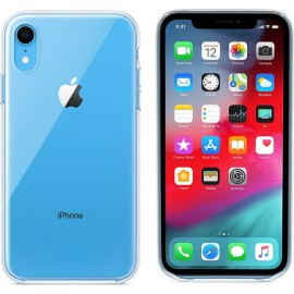Apple Back Cover Σιλικόνης Διάφανο (iPhone XR)