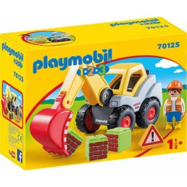 Playmobil 123: Φορτωτής Εκσκαφέας