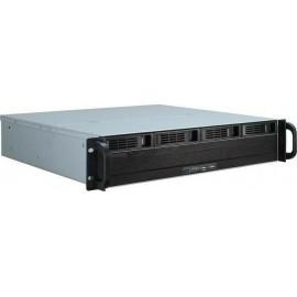 Inter-Tech 2U 2404S, server chassis, black, 2U (88887190)