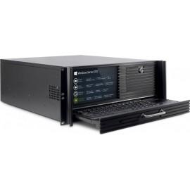 Inter-Tech 4452-TFT Server Case Μαύρο
