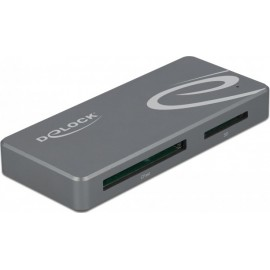 DeLock USB-C Card Reader for CFast and SD Memory Cards