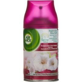 Airwick Αρωματικά Χώρου Aνταλλακτικο Freshmatic Smooth Satin & Moon Lilly 250ml