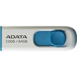 Adata C008 64GB USB 2.0 White/Blue