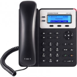 Grandstream GXP1625 Ενσύρματο Τηλέφωνο IP 2 γραμμών Μαύρο