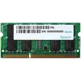 Apacer 8GB DDR3 RAM με Συχνότητα 1600MHz για Laptop